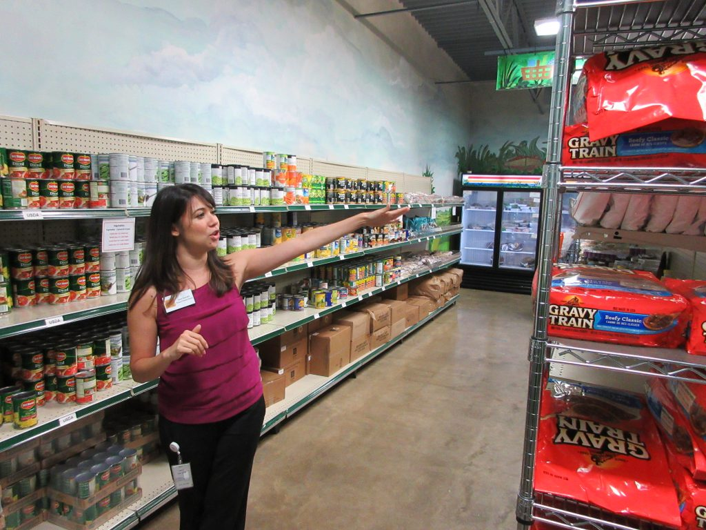 Sara Gorath, Manager of Community Outreach at North Texas Food Bank's Our Community Pantry